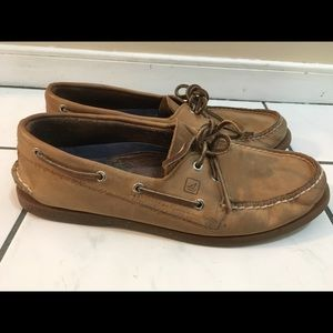 Sperry Topsider Men's Leather Boat Shoes